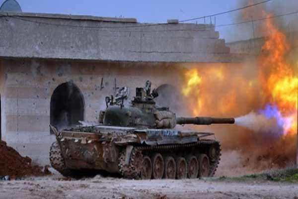 ارتش سوریه در حال حرکت به سوی مرز ترکیه است
