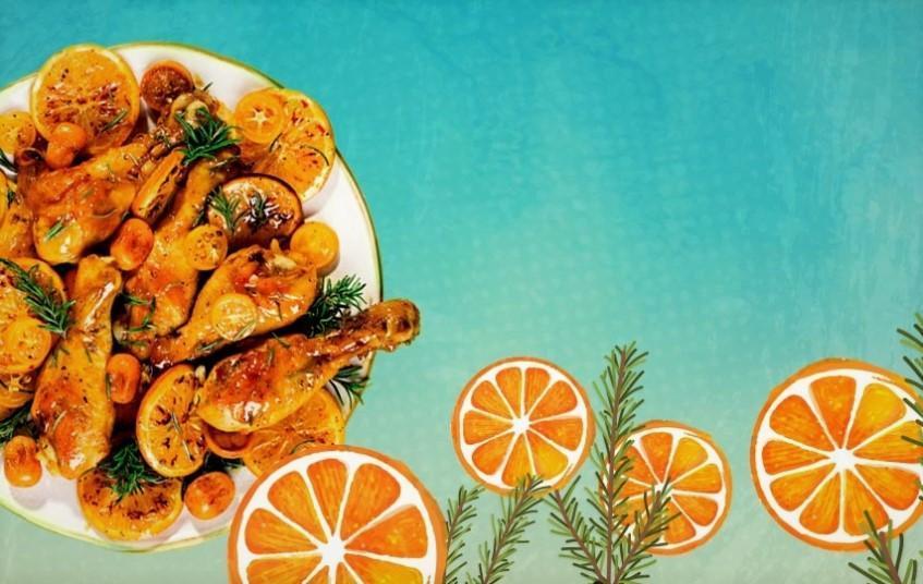 طرز تهیه مرغ پرتقالی مجلسی خوشمزه